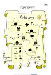 Carte au trésor – Ce1 – Lecture fonctionnelle – Français – Cycle 2