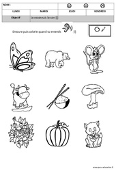 Son i – Phonologie – Maternelle – Moyenne section – Grande section – Cycle 1 – Cycle 2