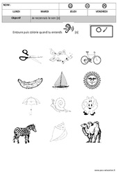 Son o - Phonologie – Maternelle – Moyenne section – Grande section - Cycle 1 - Cycle 2
