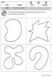Intérieur - Extérieur - Espace – Maternelle – Petite section – Moyenne section - Cycle 1