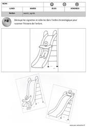 Avant - Après – Maternelle – Petite section – Moyenne section – Temps – Cycle 1