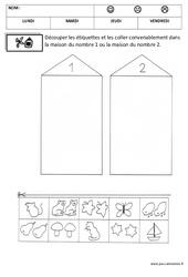 Correspondance - Quantité – Maternelle – Petite section – Moyenne section – Quantités et nombres – Cycle 1