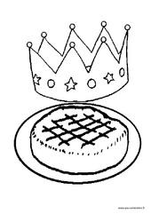 Coloriages – Fête des rois – Maternelle – Petite section – Moyenne section – PS – MS