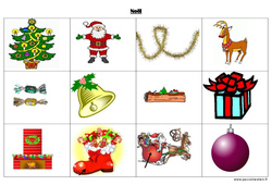 Noël – Imagier – Maternelle – Petite section – Moyenne section – PS – MS