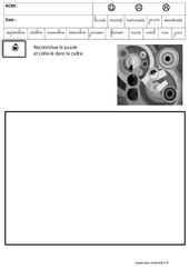 Delaunay - Puzzle - Logique – Maternelle – Grande section – GS – Cycle 2