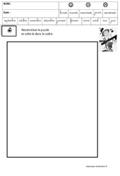 Malevitch – Puzzle – Logique – Maternelle – Grande section – GS – Cycle 2
