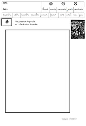 Miro – Puzzle – Logique – Maternelle – Grande section – GS – Cycle 2