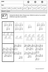 Autant - Comparer les quantités – Maternelle – Grande section – GS – Cycle 2