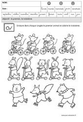 Premier - Troisième - Comparer les quantités – Maternelle – Grande section – GS – Cycle 2