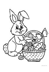 Coloriages – Pâques – Maternelle – Grande section – GS – Cycle 2