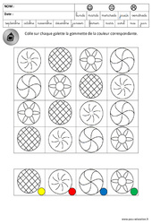 Discrimination visuelle – Galettes – Lecture – Fête des rois – Maternelle – Grande section – GS – Cycle 2