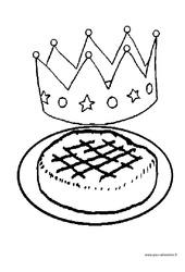 Coloriages – Fête des rois – Maternelle – Grande section – GS – Cycle 2