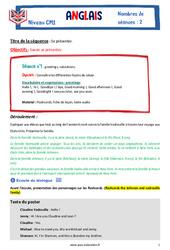 Anglais - Cm1 - Tout le programme période 1 - Famille Vadrouille