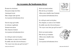 Noël - Chants - Comptines - Maternelle - Petite section - Moyenne section - Grande section: PS - MS - GS