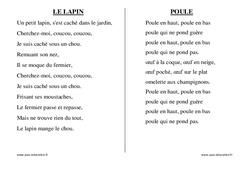 Pâques – Chants – Comptines – Maternelle – Petite section – Moyenne section – Grande section: PS – MS – GS