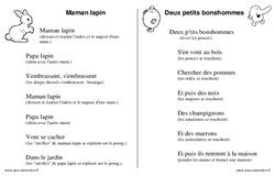 Doigts - Jeux de doigts - Maternelle - Petite section - Moyenne section - Grande section: PS - MS - GS