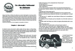 Un chevalier bâtisseur de châteaux - Lecture 6 - Moyen Age - Chevaliers et seigneurs - Famille Pass'Temps