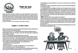 Pour un vase - Lecture 7 - Clovis - Famille Pass'Temps