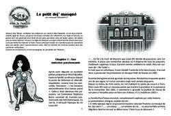 Le petit dej' masqué – Lecture 10 – Louis XIV – Famille Pass'Temps