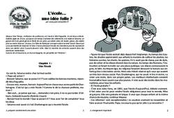 L'école... une idée folle? Lecture 14 - Jules Ferry - Famille Pass'Temps