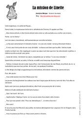 La mission de Linette - Pâques - Conte - Lecture compréhension - Ce2 - Cm1 - Cm2 - Cycle 3