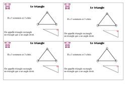 Triangle – Ce1 - Leçon