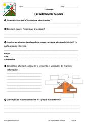 Phénomènes naturels – 6ème – Evaluation – Bilan