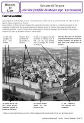 Ville fortifiée – Carcassonne – Art de l'espace – Cm1 – Histoire des arts – Cycle 3
