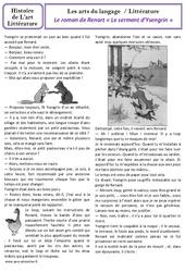 Roman de Renart – Arts du langage – Cm1 – Histoire des arts – Cycle 3