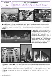 Architecture culturelle et religieuse du XXe à nos jours – Arts de l'espace – Cm2 – Histoire des arts – Cycle 3
