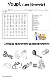 Jeux éducatifs - Rentrée - CE1 - Cycle 2