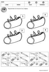 1 à 4 – Rentrée – Quantités –  Moyenne – Grande section – Cycle 1