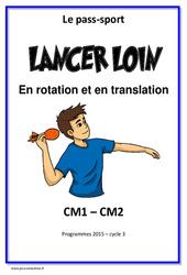 Lancer loin et haut – Rotation – Translation – Cm1 – Cm2 – Cycle complet EPS