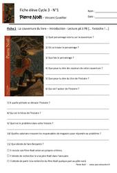 Pierre Noël - Exploitation pédagogique - Lecture suivie - Ce2 - Cm1 - Cm2 - Cycle 3