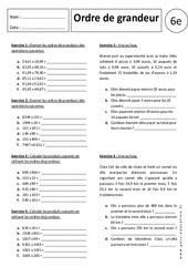 Ordre de Grandeur – Multiplication – Exercices corrigés – 6ème