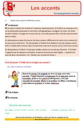 Accents – Cm1 – Soutien scolaire – Aide aux devoirs