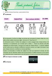Passé, présent et futur – Cm1 – Soutien scolaire – Aide aux devoirs
