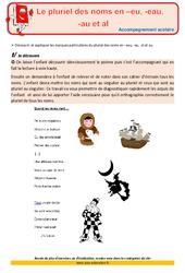 Le pluriel des noms – Cm1 – Soutien scolaire – Aide aux devoirs