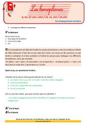 Homophones- Cm2 - Soutien scolaire - Aide aux devoirs