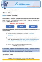 Le dictionnaire – Cm2- Soutien scolaire – Aide aux devoirs