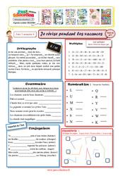 Cahiers de vacances à imprimer – Cm2 vers la 6ème – Semaine 4 – Juillet