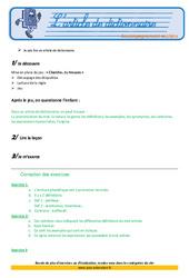L'article de dictionnaire – Cm2 – Soutien scolaire – Aide aux devoirs