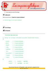 Les coupures syllabiques – Cm2 – Soutien scolaire – Aide aux devoirs