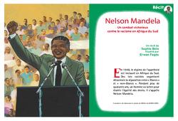 Nelson Mandela – Madiba – Afrique du Sud – Ce2 – Cm1 – Cm2 – Lecture – Récit – Cycle 3