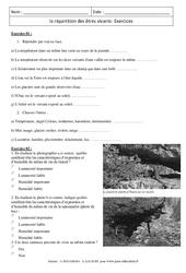 SVT : 6ème - Cycle 3 - Exercices cours évaluation révision ...