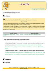 Le verbe - Cm2 - Soutien scolaire - Aide aux devoirs