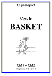 Basket – Cm1 – Cm2 – Cycle complet EPS