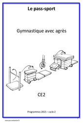 Gymnastique avec agrès – CE2 – Cycle complet EPS
