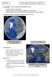 Gérer les océans et leurs ressources – Etude de cas – 5ème – Géographie
