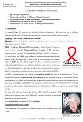 Inégalités devant la santé – Etudes de cas – 5ème – Géographie